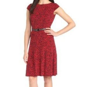 Nwt red & black Anne Klein dress